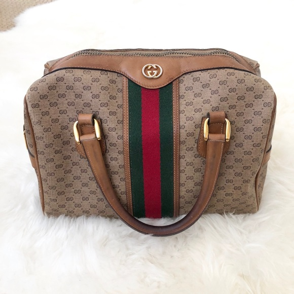 4cb949d079607f Gucci Handbags - 🖤 GUCCI Authentic Vintage Monogram Boston Bag